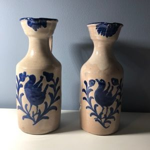 Set of Country Pitchers/Vases